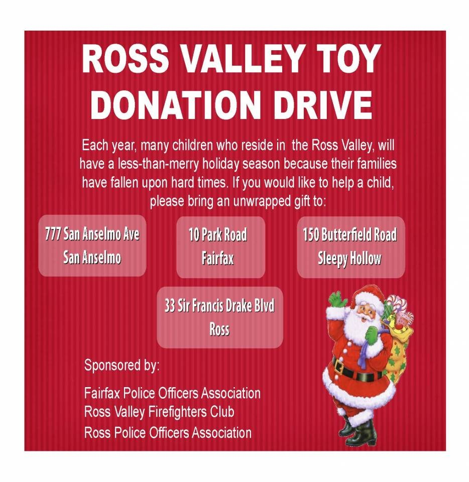 Toy Drive is happening now!  Through Dec. 19th.