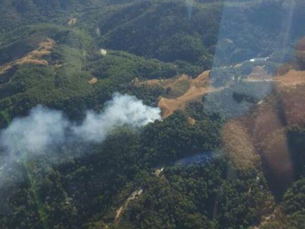 Tamarancho Vegetation Fire: 9/18/2016