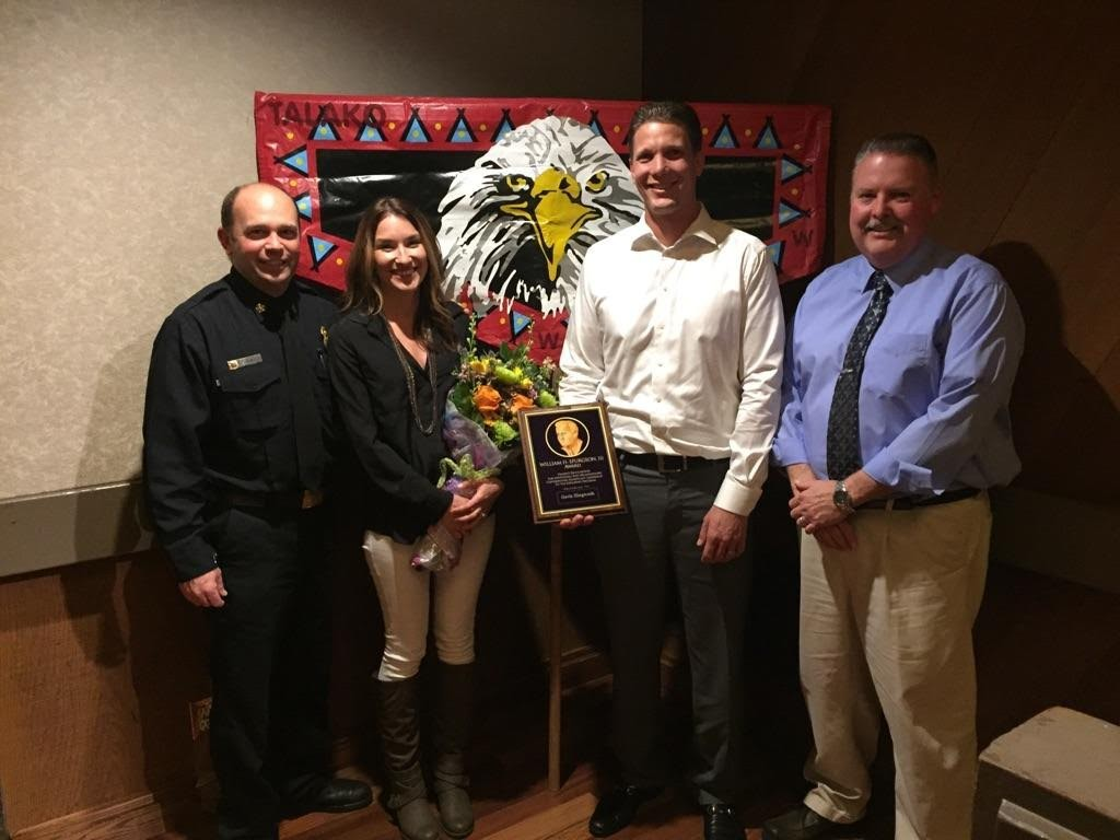 "Captain Gavin Illingworth Receives the 2016 ""William H. Spurgeon III Award"""