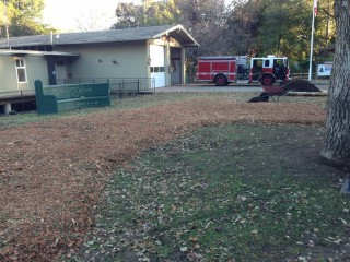 RVFD Builds Community Demonstration Garden at Station 20