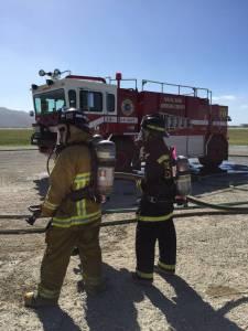 Ross Valley Fire Explorers Attend Academy