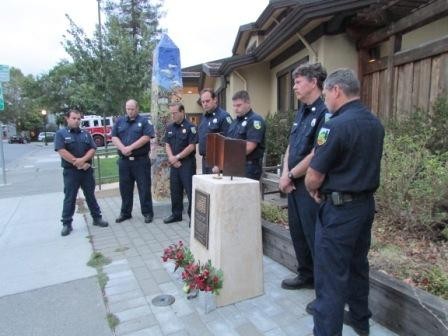RVFD Firefighters Gather In Rememberance of 9/11