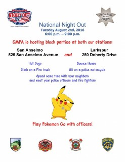 Join us on National Night Out - August 2, 2016