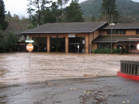San Anselmo and Fairfax experienced damaging floods several times in the last 100 years, sometimes leaving citizens stranded and without services.