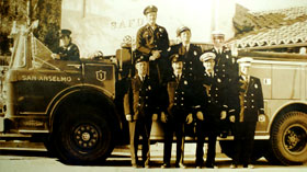 Old Firefighters, San Anselmo
